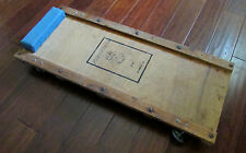 Vintage Wooden Journeyman Garage Mechanics Creeper Floor Crawler Los Angeles, CA