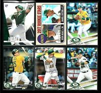 2017 Topps RYON HEALY rookie LOT rc heritage bowman chrome milwaukee a's seattle