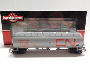 HO Scale - Intermountain - Canadian National Procor Pressure Flow Hopper Train
