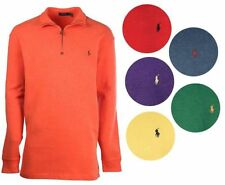 Polo Ralph Lauren Men's Cotton 1/2 Zip Style Jumpers