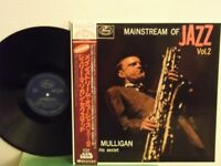"Gerry Mulligan Sextet,EmArcy/Merc.""Mainstream Vol.2"",Japan,LP,mono,OBI,insert,M"
