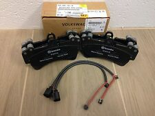AUDI Q7 FRONT BRAKE PADS AND FRONT WEAR SENSORS OEM Brand New 7L0698151R