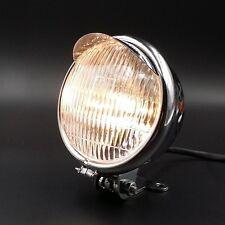 """5.5"""" Chrome Motorcycle Headlight for Cruiser Chopper Cafe Racer Bobber Custom"""