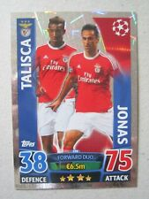 Champions League2015/16 Duo card Talisca & Jonas of Benfica