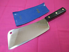 Professional Sabatier  7 inch Stainless Steel Cleaver with Hanging Ring