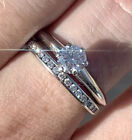 $7400 Tiffany And Co 0.51 Ct VS1 F Diamond Engagement Ring With Platinum Band