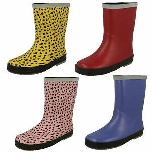 Clarks Childrens Wellington Boots Tarri Splash