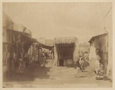 Tunis Tunisie Photo Garrigues Vintage albumine vers 1880
