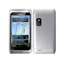 Nokia E7 - Silver (Unlocked) Smartphone GPS WiFi 8.0MP Touchscreen Free Shipping