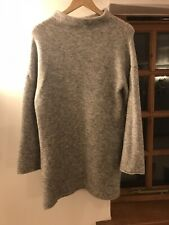 Next Grey Jumper Dress Size 10