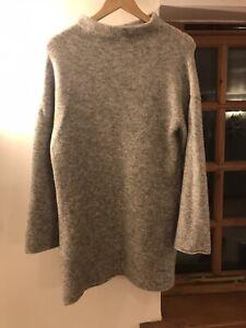 Next Grey Jumper Dress Size 10