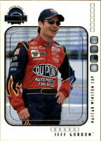 2002 Press Pass Eclipse Racing Card Pick