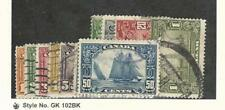 Canada, Postage Stamp, #149-159 Used Set, 1928-29