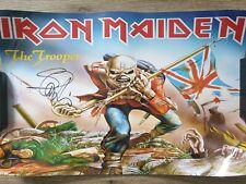 Steve Harris (Iron Maiden) Poster signed/autograph/signiert/Autogramm