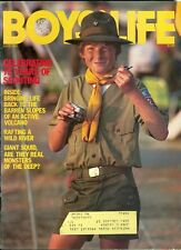 1983 Boys' Life Magazine: 75 Years of Scouting/Giant Squid/Wild River Rafting