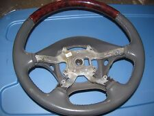 LINCOLN LS 2000-2001-2002 GRAY WOODEN STEERING WHEEL