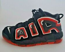 Nike More Uptempo '96 Black/Red CJ6129-001 Basketball Shoes Men's Size 10.5