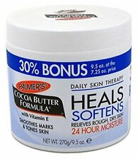 Palmers Cocoa Butter with Vitamin E 9.5 oz. - Bonus size Jar (Pack of 4) NEW