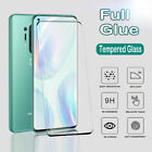 For OnePlus 6 7 8T 9 Pro 3D Full Cover Tempered Glass Curved Screen Protector 9H