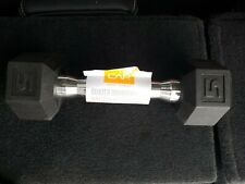 CAP 5 lb Standard Rubber Coated Dumbbells *Ships ASAP*