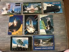 LOT of 8 NASA Vintage Post Cards Kennedy Space Center NEW