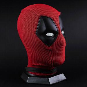 Halloween Karneval Cosplay Deadpool Kostüm Maske Superheld Cosplay Gewirke DE