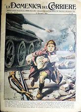 """"""" LA DOMENICA DEL CORRIERE N°47/ 18/NOV/1956 - ANNO 58 """""""