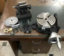 6150mm Rotary Table 3 Slot Hv6 With Indexing Plates Tailstock Clamping Kit