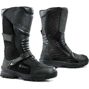Forma MX ADV Tourer Black Off Road Touring Adventure Boots