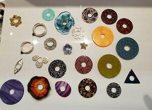 Silberwerk Ring Ding 25teiliges Set Silber Top Zustand Gr54 und 56