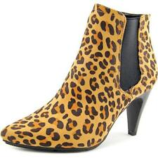 Botas de mujer de tacón alto (más que 7,5 cm) de color principal marrón talla 38