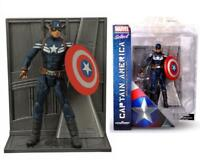 "Marvel Select Captain America Winter Soldier Stealth Uniform 7"" Figure  20"