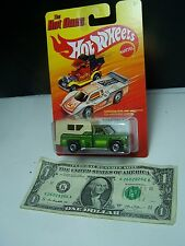 Hot Wheels - Hot Ones - Green  special Paint - Backwoods Bomb  Pickup Truck 2012