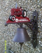 Attractive Farmall Tractor Outside BELL  Lovely Gift. LOUD RING farmer farmhouse