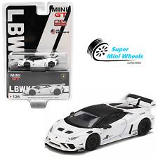 Mini GT 1:64 LB WORKS Lamborghini Huracan GT White #126
