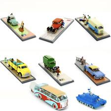 Tintin Transport Diorama Bus Swissair Char Lunaire Seleziona Select Sélectionner