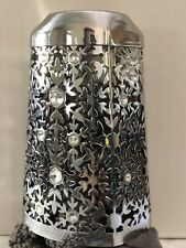 Bath Body Works GEM SNOWFLAKES Chrome Foaming Deep Cleansing Soap Sleeve Cover