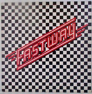 Fastway - Self Titled RARE 1983 UK LP