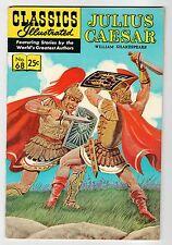 Classics Illustrated JULIUS CAESAR No.68 - HR#169 - VF 1969 Vintage Comic
