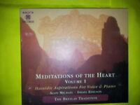 ALON MICHAEL ISRAEL EDELSON - MEDITATIONS OF THE HEART VOLUME 1. CD.