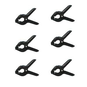 Heavy Duty Muslin Clamps 6-pack Set 4.5 inch f Photography Backdrops/backgrounds