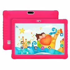 10 Inch Android 8.1 Dual SIMs Quad Core Kids Tablet PC Bundle Free Case