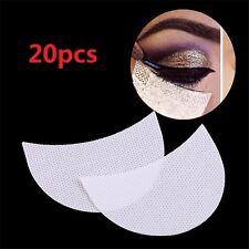 20Pcs Under Eye Stickers Eye Shadow Shields Patch Eyelash Pad Makeup Supply Tips
