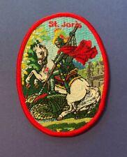 Vintage Sint Joris Patch St. George Belgium 009S