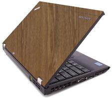WOOD Vinyl Lid Skin Cover Decal fits IBM Lenovo ThinkPad X220 X230 Laptop