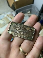 Charles Lindbergh Spirit of St. Louis Silver Ounce Bar