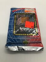 NEW 1993 Upper Deck USA World Cup Soccer Factory Sealed Pack Of 10 Cards