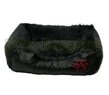 100/% original de piel de oveja Pet Bed Rug Cubierta de asiento Mascota Cachorro Perro Gato Alfombra Color Blanco