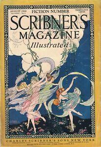 1924 Scribner's August Fiction Number - John Galsworthy - The Forsyte Saga