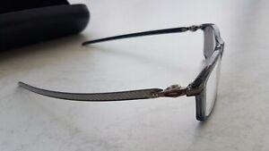 OAKLEY Pitchman Carbon Brille grey-smoke OX8092-0355 Kunststoff transparent NEU